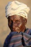 Ηληκιωμένος Arbore στη χαμηλότερη κοιλάδα Omo, Αιθιοπία Στοκ Εικόνα