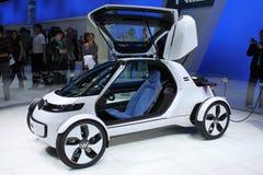 η ηλεκτρική μικρή VW έννοιας &al Στοκ Φωτογραφία