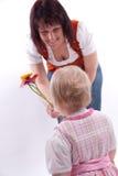 η ημέρα ανθίζει τις μητέρες στοκ εικόνες με δικαίωμα ελεύθερης χρήσης