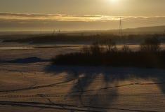 Η ημέρα αρχίζει Στοκ εικόνες με δικαίωμα ελεύθερης χρήσης