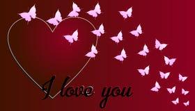 Η ημέρα βαλεντίνων ` s είναι μια ημέρα όταν αγαπά περισσότερο απ' ό, τι το σύμβολο των μέσων καρδιών Στοκ εικόνα με δικαίωμα ελεύθερης χρήσης