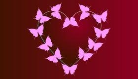 Η ημέρα βαλεντίνων ` s είναι μια ημέρα όταν αγαπά περισσότερο απ' ό, τι το σύμβολο των μέσων καρδιών Στοκ φωτογραφία με δικαίωμα ελεύθερης χρήσης