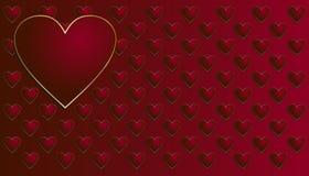 Η ημέρα βαλεντίνων ` s είναι μια ημέρα όταν αγαπά περισσότερο απ' ό, τι το σύμβολο των μέσων καρδιών Στοκ εικόνες με δικαίωμα ελεύθερης χρήσης