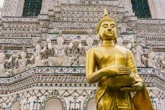Η ημέρα στη Μπανγκόκ, Ταϊλάνδη, ναός Wat Arun Στοκ φωτογραφίες με δικαίωμα ελεύθερης χρήσης