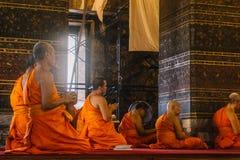 Η ημέρα στη Μπανγκόκ, Ταϊλάνδη, ναός Wat Arun Στοκ Φωτογραφία