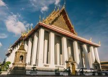 Η ημέρα στη Μπανγκόκ, Ταϊλάνδη, ναός Wat Po Στοκ φωτογραφία με δικαίωμα ελεύθερης χρήσης