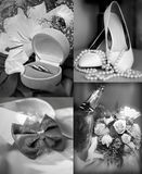 Η ημέρα του γάμου Στοκ Εικόνα
