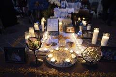 Η ημέρα των νεκρών αλλάζει Στοκ Εικόνες