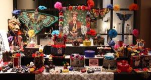Η ημέρα των νεκρών αλλάζει Frida Στοκ φωτογραφία με δικαίωμα ελεύθερης χρήσης