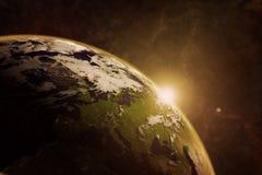 Η ηρεμία του διαστήματος Στοκ φωτογραφία με δικαίωμα ελεύθερης χρήσης