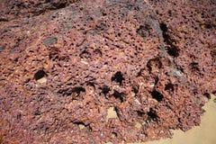 Η ηφαιστειακή λάβα Στοκ εικόνα με δικαίωμα ελεύθερης χρήσης