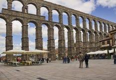 η 1$η αγγελία aquaduct καλύτερα έχτισε τα ιβηρικά αριστερά μνημεία αιώνα κατά το ήμισυ οι περισσότεροι μια συντηρημένοι χερσόνησο Στοκ εικόνα με δικαίωμα ελεύθερης χρήσης