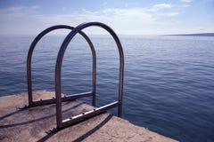Η θάλασσα εισάγεται Στοκ Φωτογραφίες