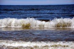Η θάλασσα της Βαλτικής σε Zelenogradsk, Ρωσία Στοκ φωτογραφία με δικαίωμα ελεύθερης χρήσης