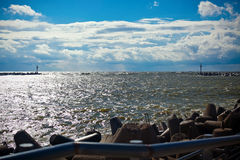 η θάλασσα της Βαλτικής Στοκ Φωτογραφία