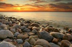 η θάλασσα της Βαλτικής στοκ εικόνες