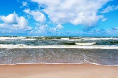 Η θάλασσα της Βαλτικής Στοκ εικόνες με δικαίωμα ελεύθερης χρήσης