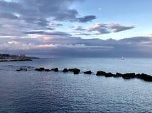 Η θάλασσα Stracysa Στοκ Εικόνες