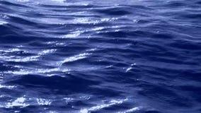 Η θάλασσα στη βροχή απόθεμα βίντεο