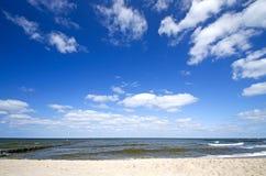 Η θάλασσα της Βαλτικής Γερμανία Στοκ Φωτογραφία