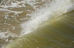 Η θάλασσα της Βαλτικής διέγερσης τον Ιούνιο Στοκ Φωτογραφίες