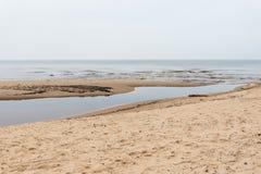 Η θάλασσα της Βαλτικής και ομιχλώδες πρωί Στοκ φωτογραφία με δικαίωμα ελεύθερης χρήσης