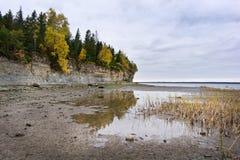 Η θάλασσα της Βαλτικής το φθινόπωρο Στοκ Φωτογραφίες
