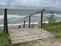 Η θάλασσα της Βαλτικής στοκ εικόνα