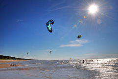 Η θάλασσα της Βαλτικής, Jurmala, Λετονία Στοκ εικόνες με δικαίωμα ελεύθερης χρήσης