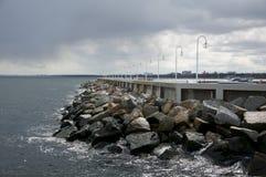 Η θάλασσα της Βαλτικής, Sopot Στοκ Φωτογραφίες