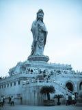 Η Θάλασσα της Νότιας Κίνας μια θεά Guanyin Buddism στοκ φωτογραφία