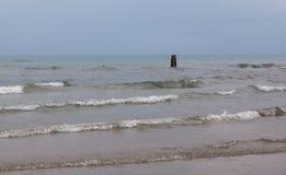 Η θάλασσα το φθινόπωρο Στοκ Φωτογραφία