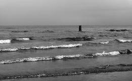 Η θάλασσα το φθινόπωρο Στοκ Εικόνες