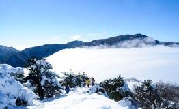 Η θάλασσα των σύννεφων 3 στοκ εικόνα