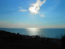 Η θάλασσα Azov στοκ φωτογραφίες