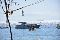 Η θάλασσα Marmara Bursa, Τουρκία Στοκ φωτογραφία με δικαίωμα ελεύθερης χρήσης