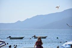 Η θάλασσα Marmara Bursa, Τουρκία Στοκ Φωτογραφίες