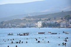 Η θάλασσα Marmara Bursa, Τουρκία Στοκ Εικόνες