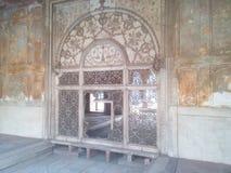 Η θέση συνεδρίασης του mughal αυτοκράτορα Στοκ Εικόνες