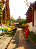 Η θέση του ναού Ταϊλάνδη θρησκείας Στοκ εικόνες με δικαίωμα ελεύθερης χρήσης