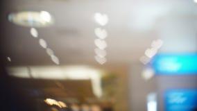 Η θαμπάδα ή η εικόνα του καταστήματος, έννοια εμπορικών κέντρων Στοκ Φωτογραφία