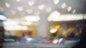 Η θαμπάδα ή η εικόνα του καταστήματος, έννοια εμπορικών κέντρων Στοκ Φωτογραφίες