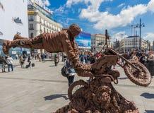 Η θαυμάσια παλαιά πόλη Μαδρίτη, Ισπανία στοκ φωτογραφίες