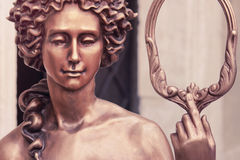 Η θεά της αγάπης Aphrodite (Αφροδίτη, ορισμένος τρύγος) Στοκ Εικόνες