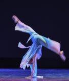 Η θεά του φεγγαριού ο χορός-εθνικός λαϊκός χορός Στοκ Εικόνα