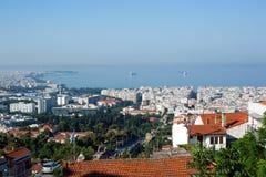 Η Θεσσαλονίκη βόρεια Ελλάδα στοκ φωτογραφίες με δικαίωμα ελεύθερης χρήσης