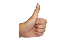η θηλυκή εμφάνιση χεριών φ&upsilon Στοκ Εικόνα