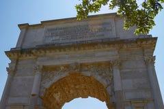 Η θριαμβευτική αψίδα του Titus στη Ρώμη Ιταλία Στοκ φωτογραφίες με δικαίωμα ελεύθερης χρήσης