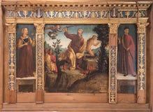 Η θυσία του Isaac, Βερόνα στοκ φωτογραφίες