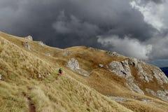 Η θύελλα βουνών έρχεται Στοκ Φωτογραφία